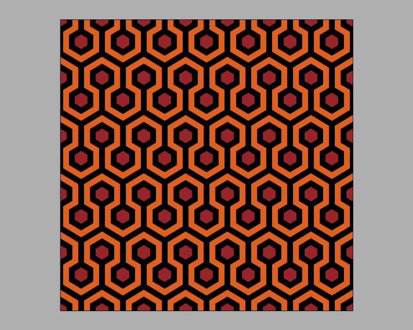 How To Create The Carpet Pattern From The Shining In Adobe