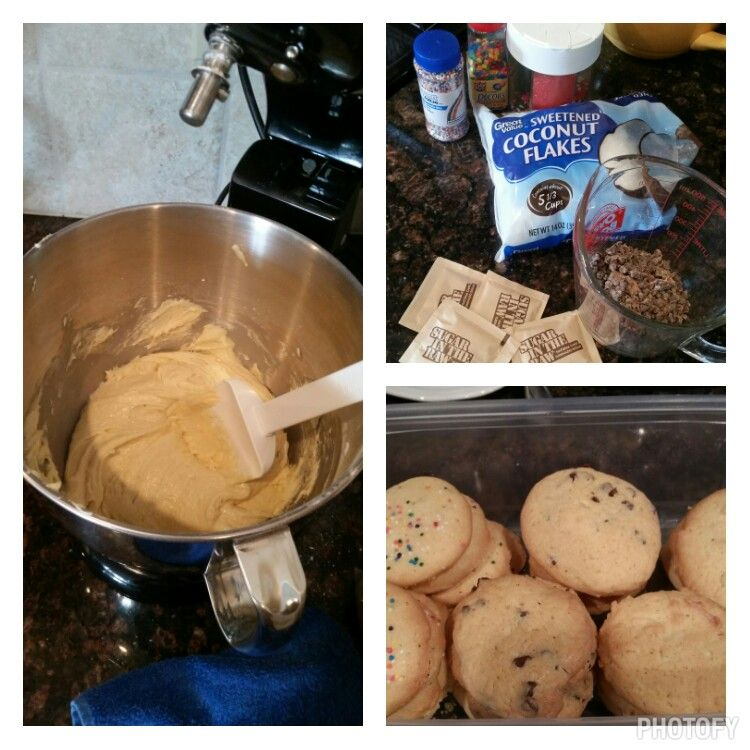 Sugar Cookies 1 cup sugar 1 cup butter softened (room