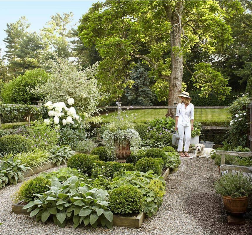 Beautiful Enclosed Potager Garden With Raised Beds In Connecticut Landscape Design Garden Design Garden View