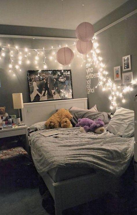 51 süße Mädchen Schlafzimmer Ideen für kleine Räume – Matchness.com #girlsbedroom