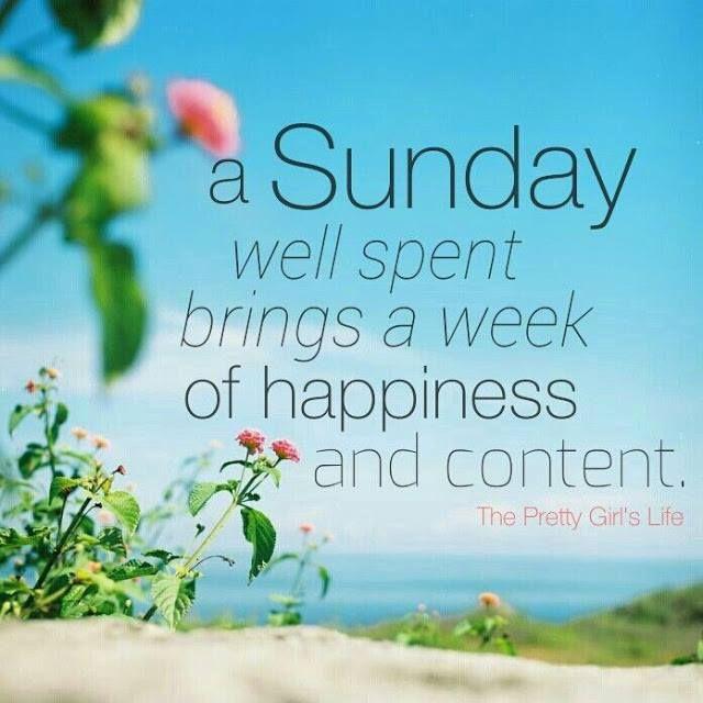 Nice A Sunday Well Spent Sunday Sunday Quotes Happy Sunday Sunday Quote Happy  Sunday Quotes