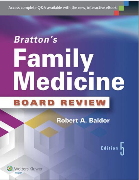Bratton Family Medicine Board Review 4th Edition