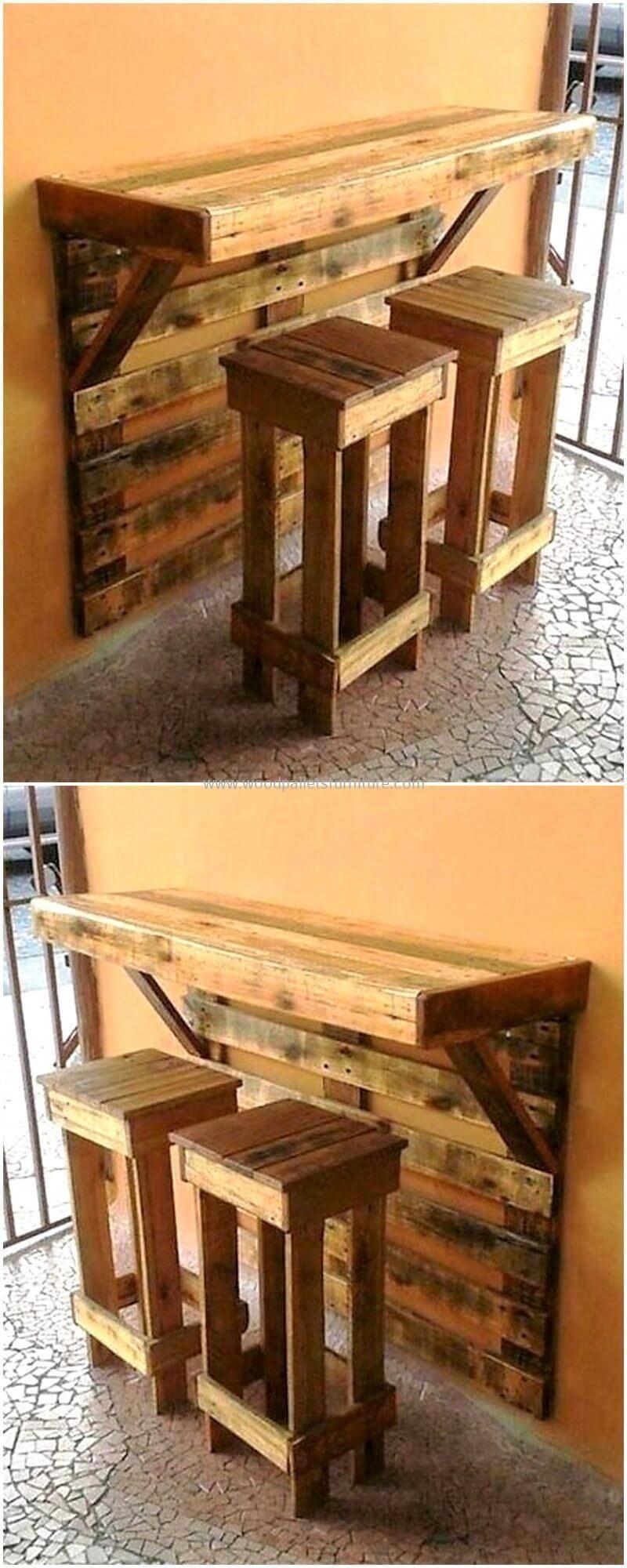 Recycled Pallet Shelves Broken Pallet Diy Pallet