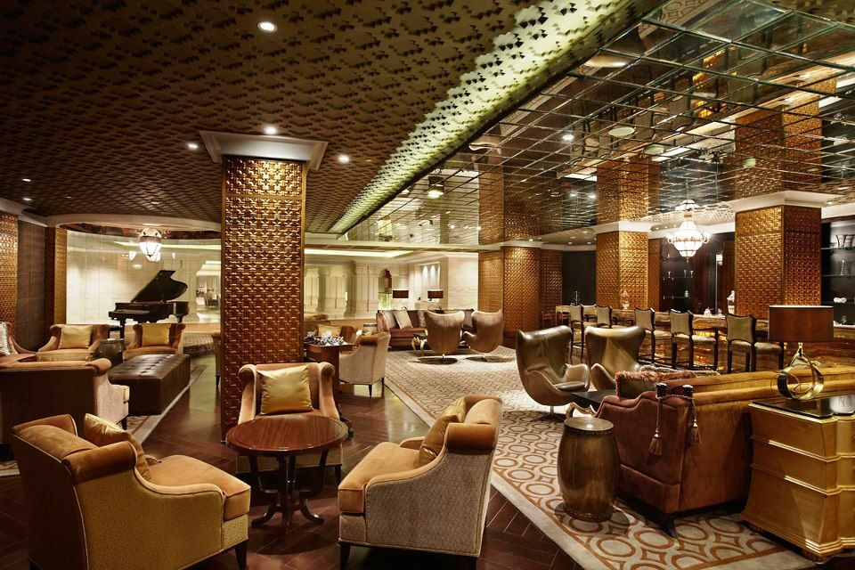 Itc Grand Chola In Chennai The Residents Lounge
