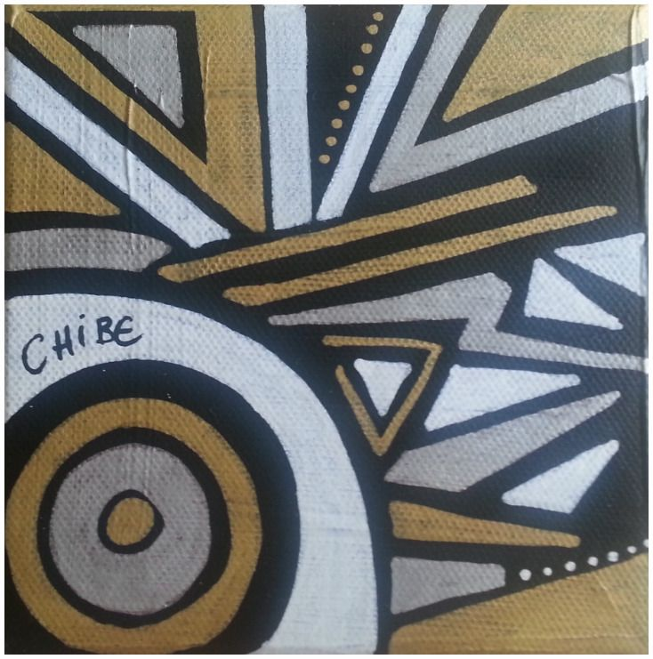 tableau moderne deco petit format dor argent blanc noir peintures par art monize31 toiles. Black Bedroom Furniture Sets. Home Design Ideas
