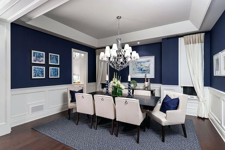 Navy Blue Dining Room 7 Navy Dining Room What A Luxurious Dining