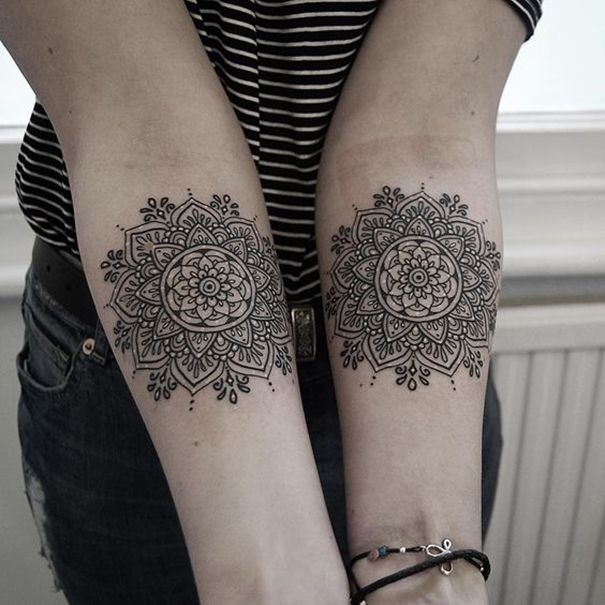Epingle Sur Mandala Tattoos