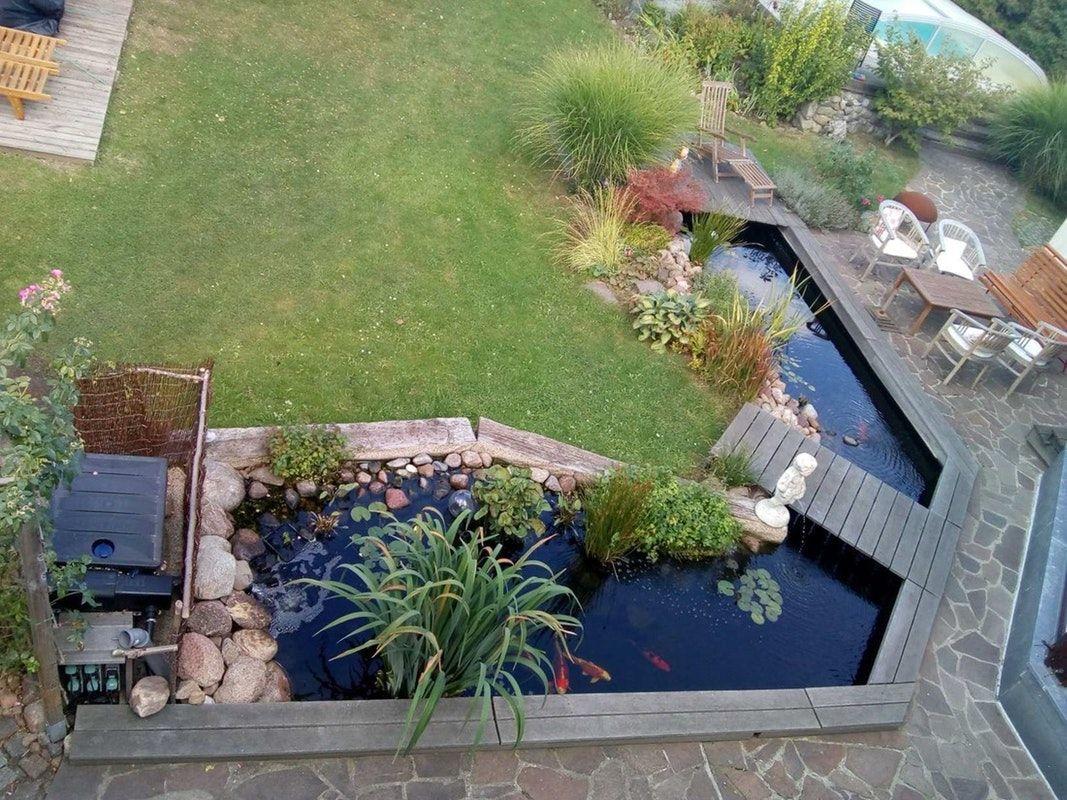42+ Teich direkt an der terrasse Sammlung