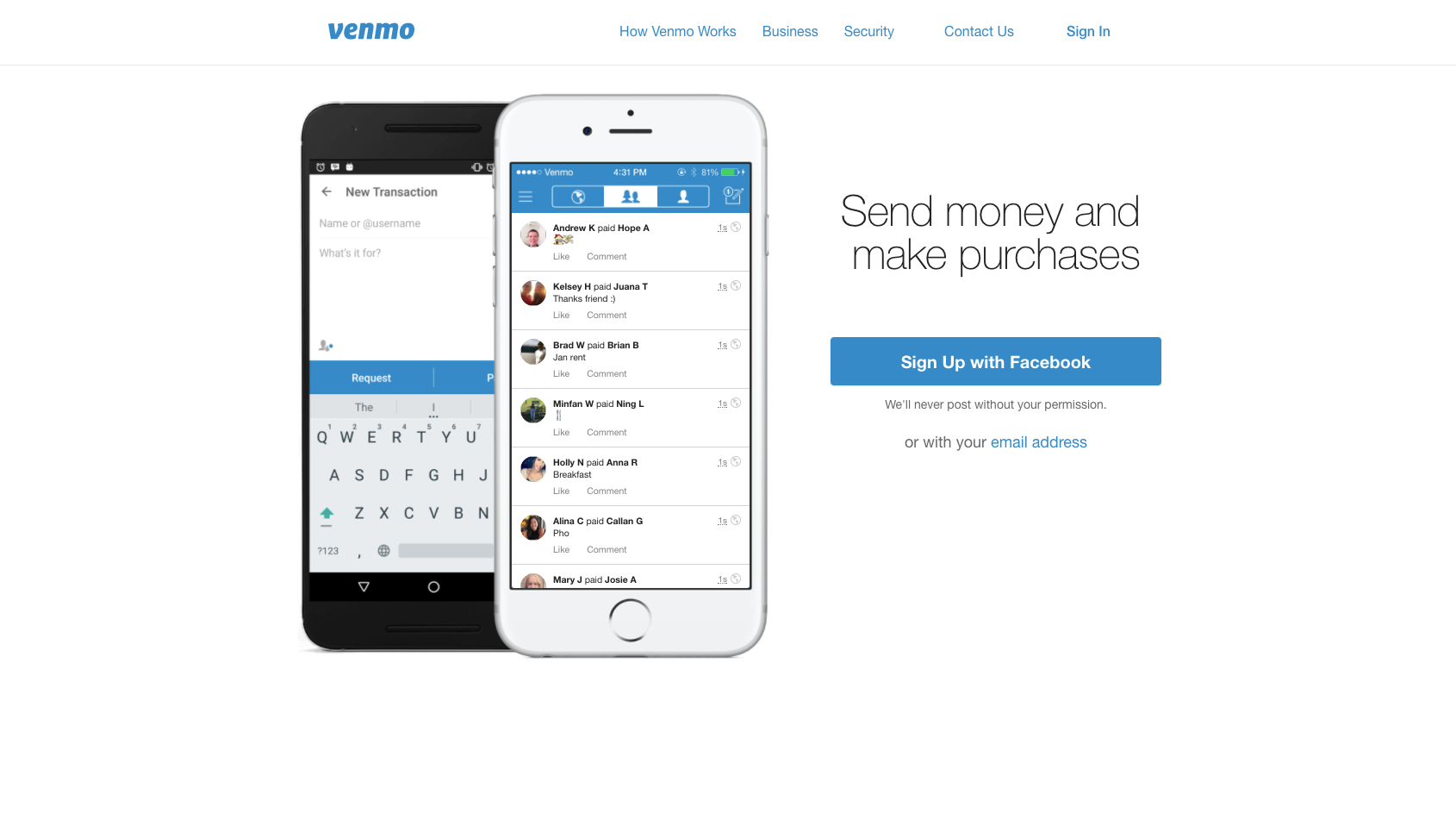 Send Money And Make Purchases Send Money Venmo Make Easy Money