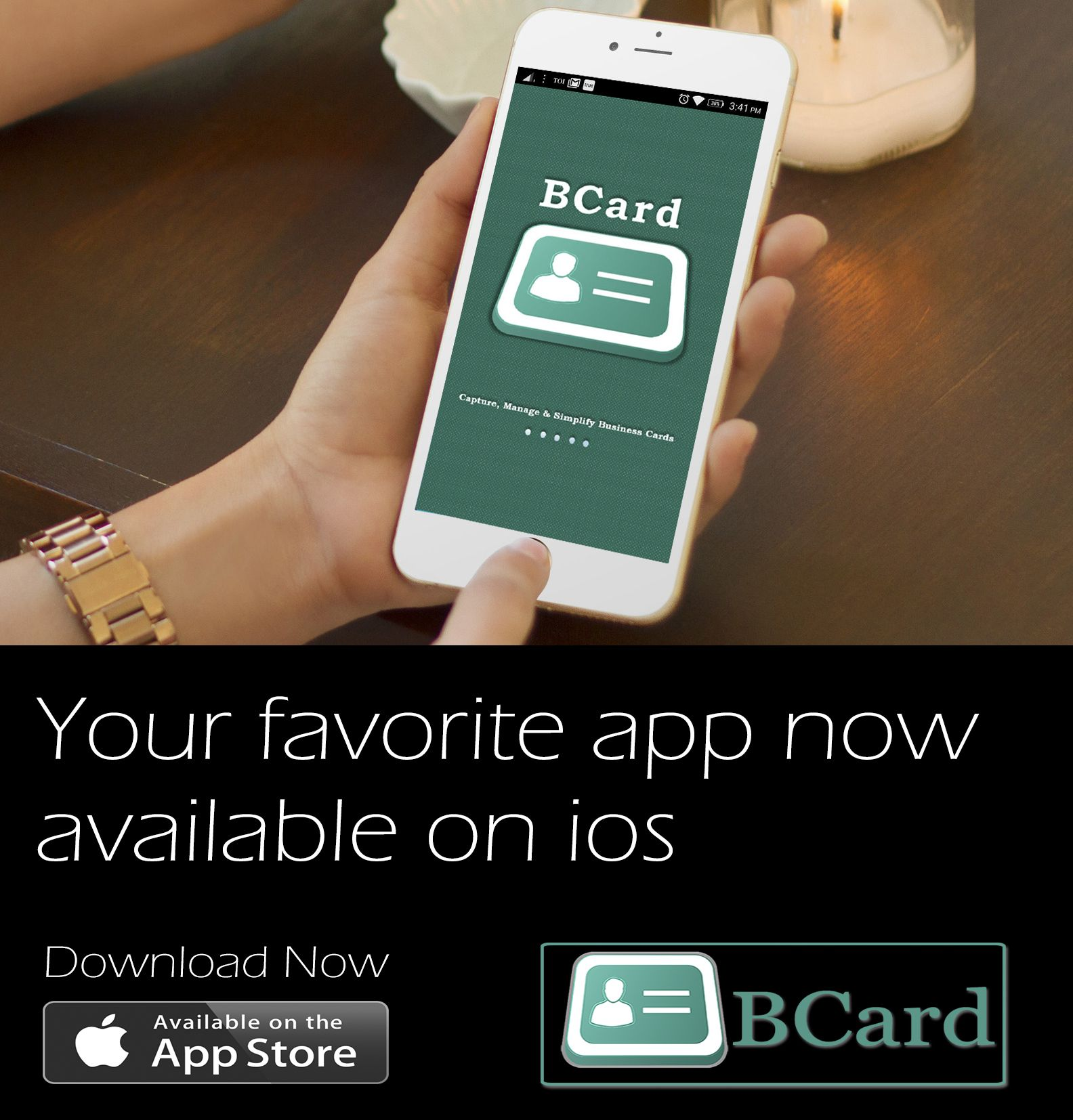 Manage your Paper Business Card only with BCard Reader, save your ...