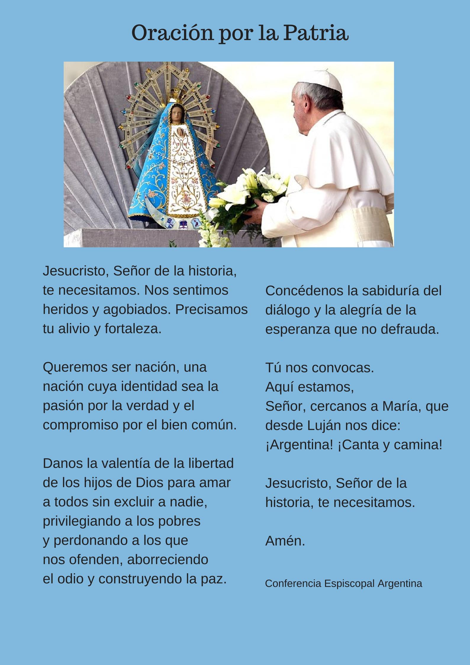 Oración por la Patria | Oraciones, Citas católicas, Estrategias de enseñanza