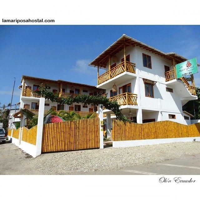 Hotel en Olón Ecuador #Travel #PlayasEcuador #beachlife #tropical #tourism #BestPlace #beachfront #weekend #escape #relax #loveBeach