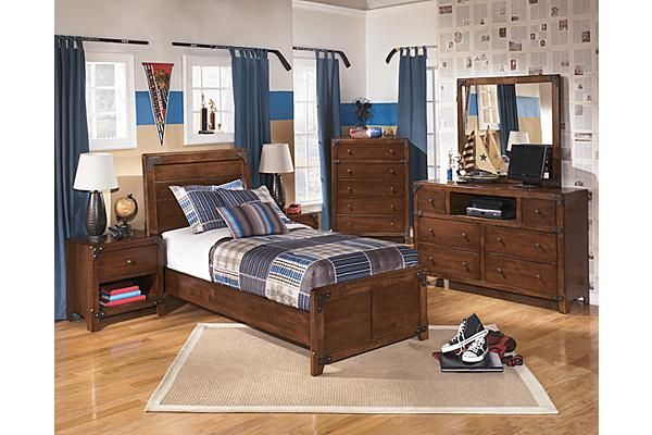 Ashley Furniture Delbourne Youth Panel Bedroom Set Bedroom