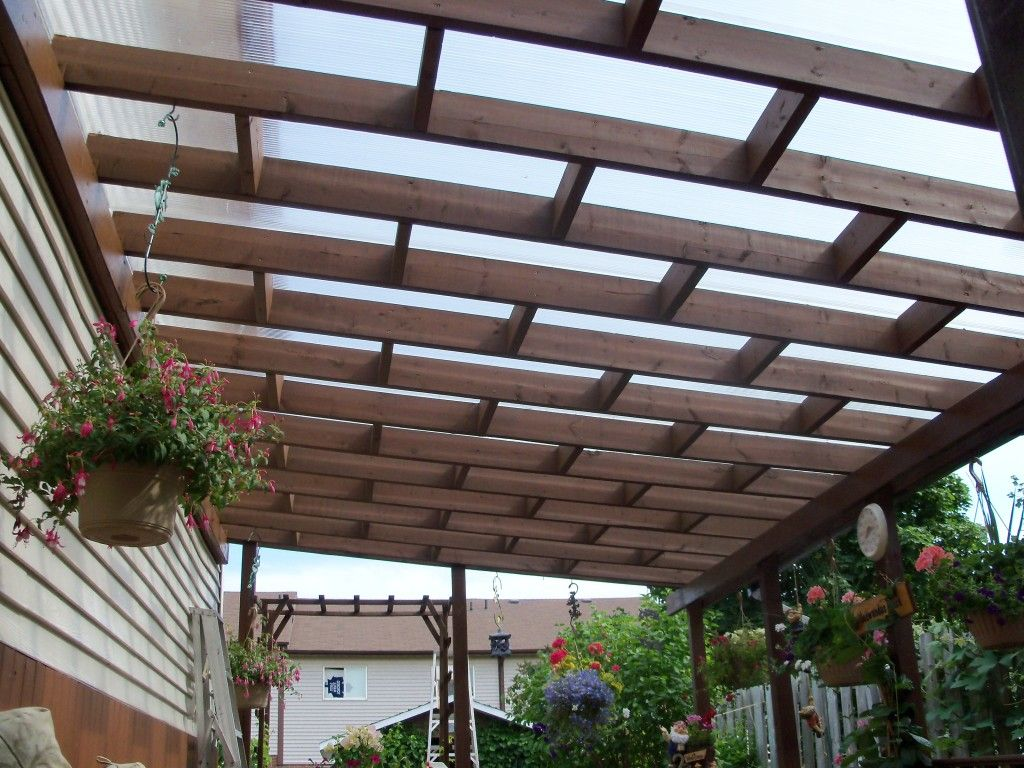 Lexan polycarbonate cover yard pinterest pergolas patios and decking - Pergola polycarbonate aluminium ...