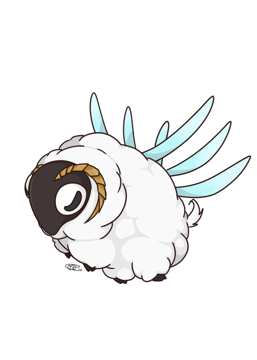 Wool Insect from The Ancient Magus' Bride! by MTSugarr on DeviantArt