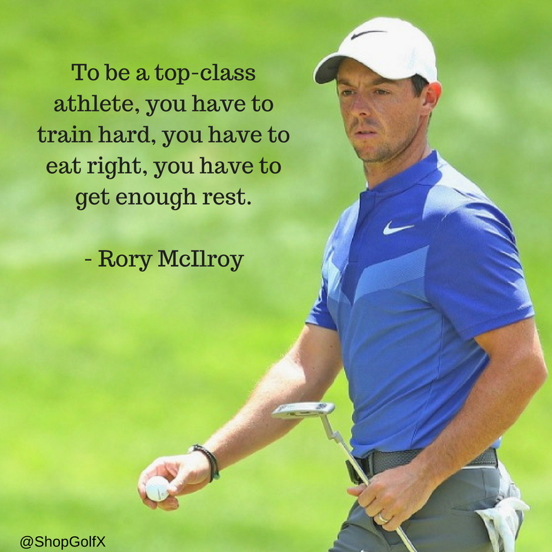 To Be A Top Class Athlete You Have To Train Hard You Have To Eat Right You Have To Get Enough Rest R Golf Quotes Funny Golf Inspiration Quotes Golf Quotes