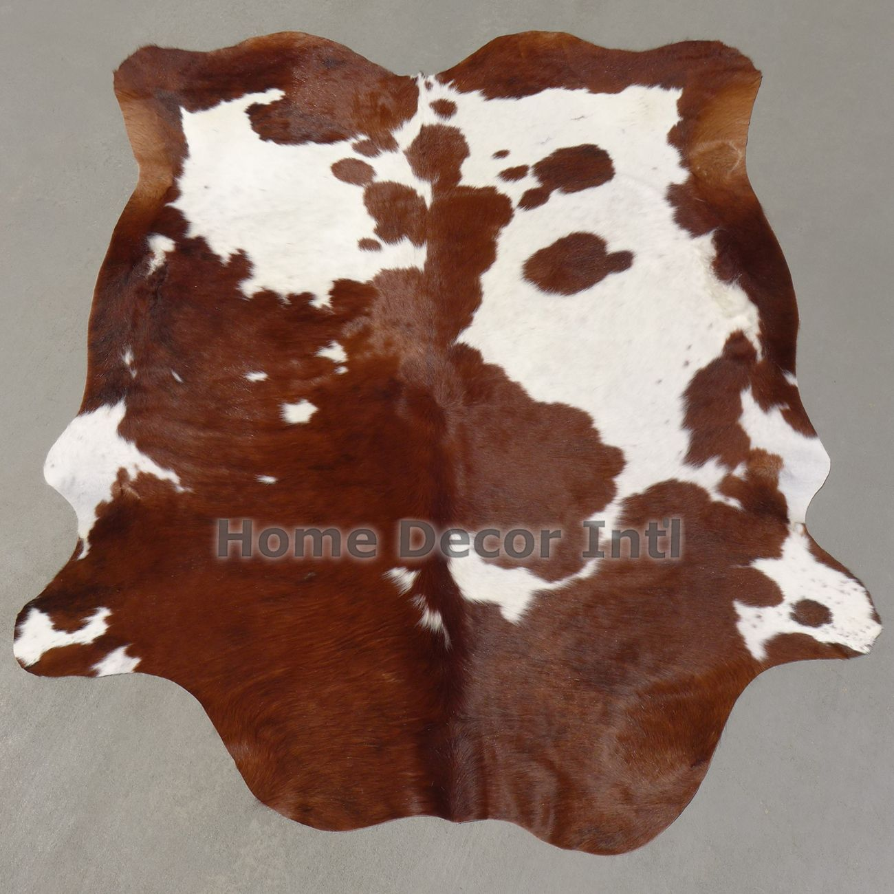 Reddish Brown and White Colombian Cowhide