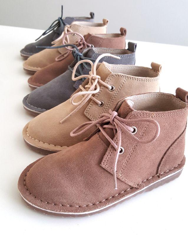 Toddler boots, Desert boots
