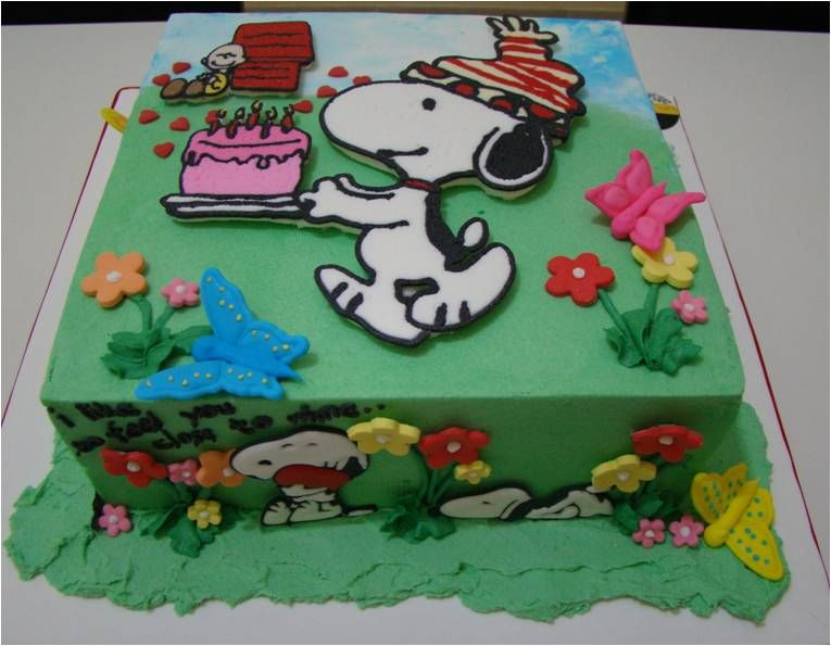 Snoopy Cupcakes Cake Ideas And Designs Snoopy Cake