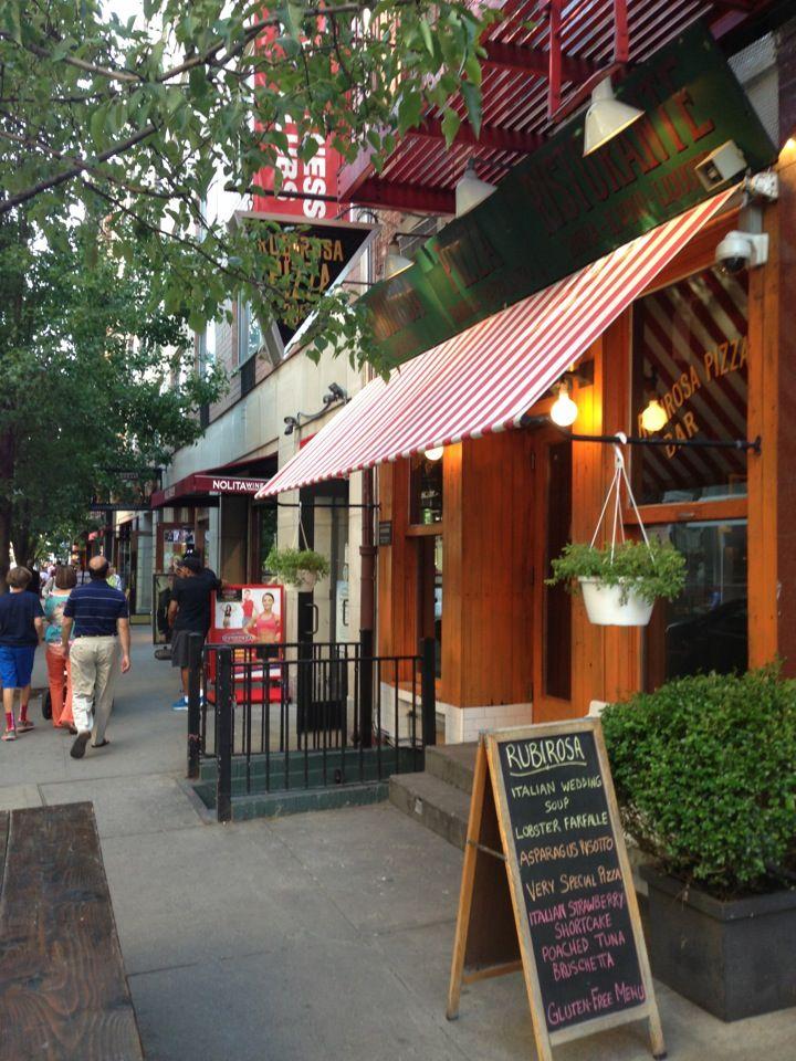 Rubirosa in New York, NY; Little Italy, gf menu