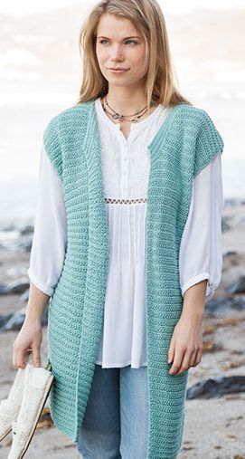 Knitting Pattern For Passionista Vest Lena Skvagersons Simple To