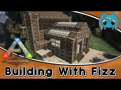 Ark Survival Evolved Building W Fizz Large Stable Building Build Youtube Ark Survival Evolved Ark Survival Evolved Bases Survival