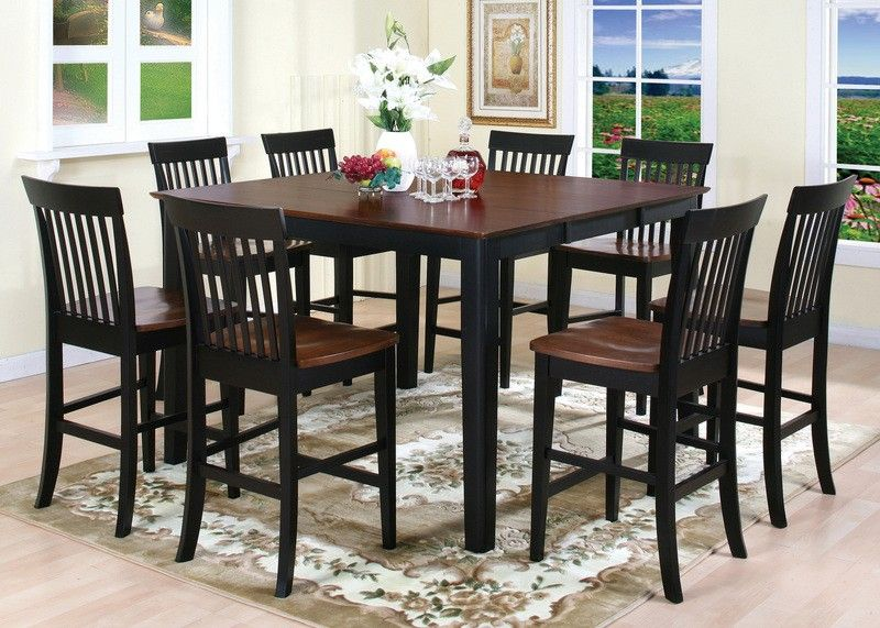 tall kitchen table and chairs papasan chair bowl tables phil in furniture
