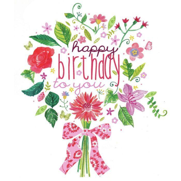 Birthday Flowers Images With Quotes: IMÁGENES DE SALUDOS DE CUMPLEAÑOS
