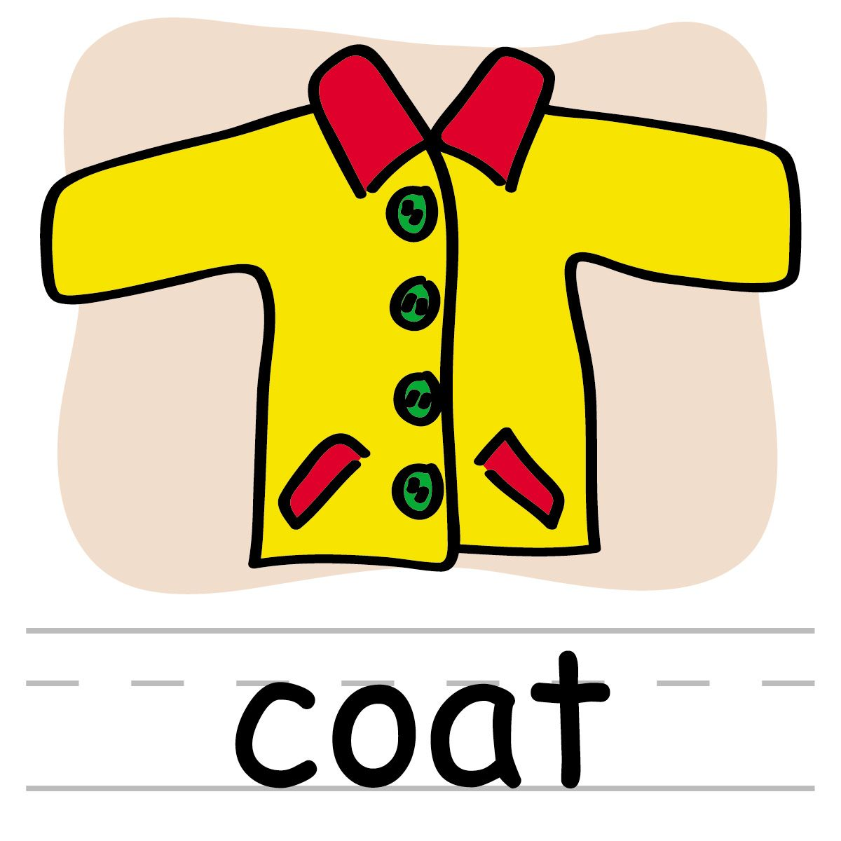 free clipart for teachers clothing clothes illustration clipart rh pinterest com Coat Clip Art Sweating Clip Art