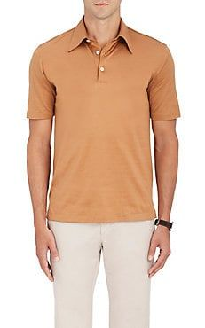 013fa1b30f1 BRIONI Cotton Jersey Polo Shirt | Wishlist - Fashion | Mens designer ...
