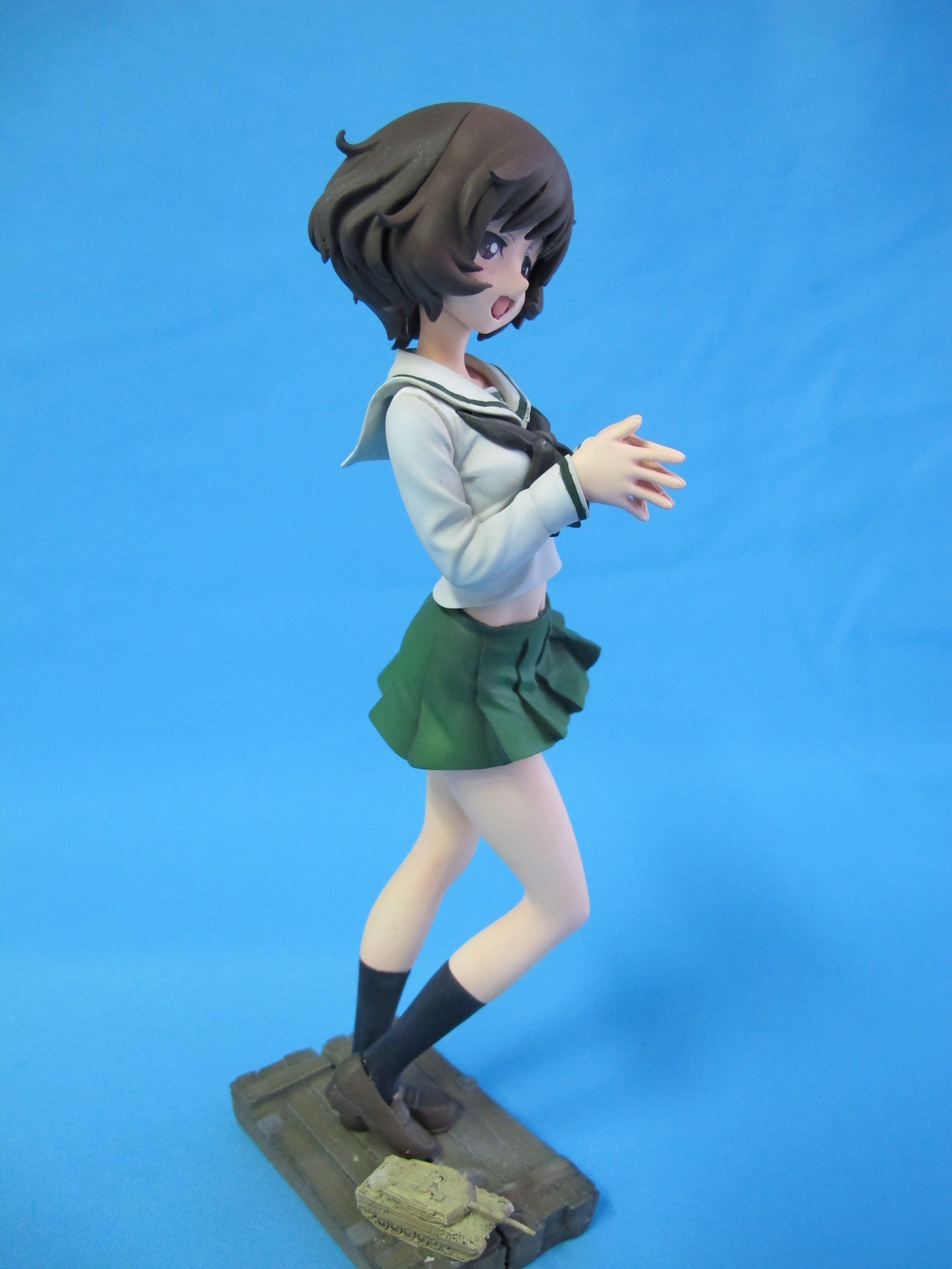 Yukari Akiyama Girls und Panzer 1/7 Volks CharaGumin GK by