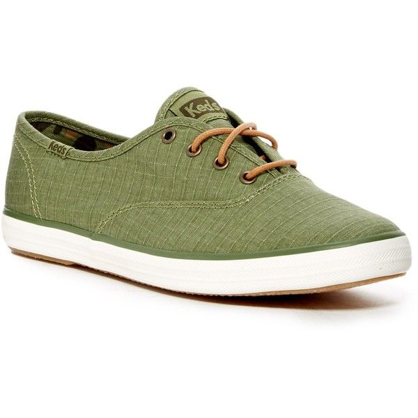 Olive green shoes, Keds champion
