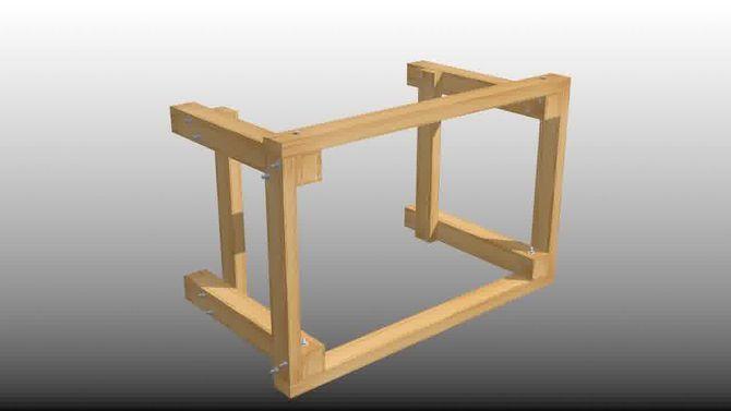 Costruire Un Tavolo Da Giardino In Legno.Realizzare Un Banco Da Lavoro In Garage Banco Da Lavoro Tavoli