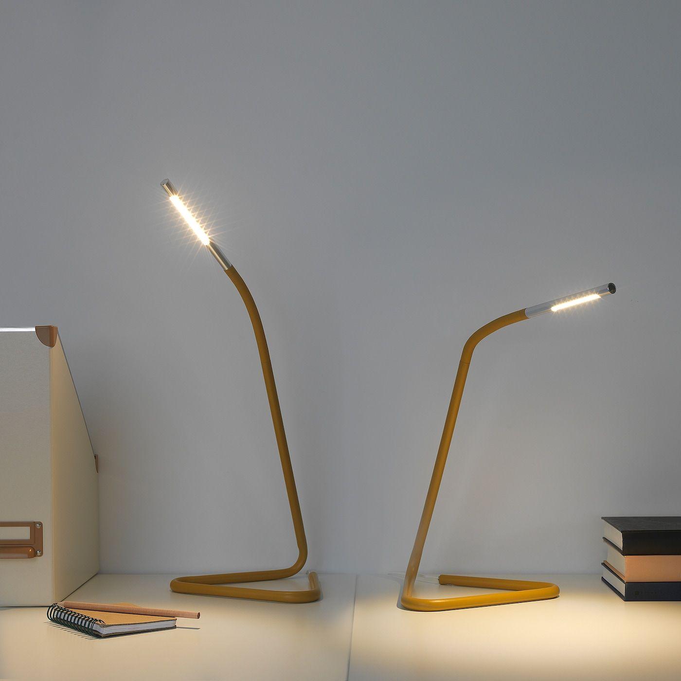 Harte Arbeitsleuchte Led Gelb Silberfarben Ikea Osterreich Lamp Work Lamp Can Lights