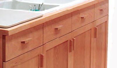 Creating Elegant Shopmade Wooden Cabinet Pulls  Kitchen Cabinet Awesome Kitchen Cabinet Drawer Pulls 2018