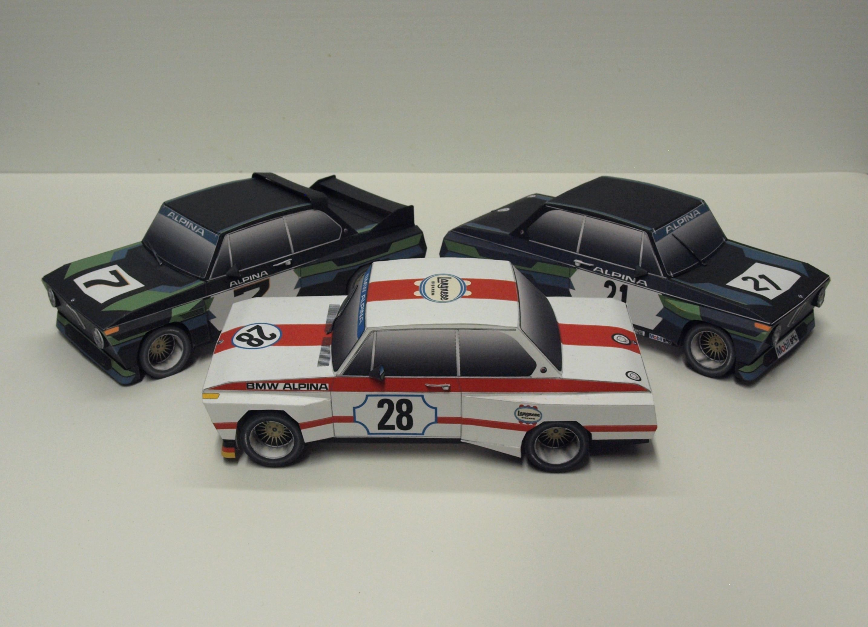 Bmw Alpina Race Cars From The Designed And Built By Dave