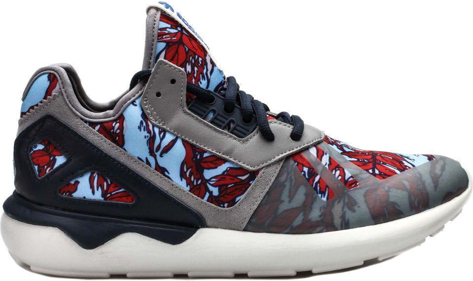 Adidas Originals Tubular Runner Grey/Navy/Off White Men 's Running Shoes B35637