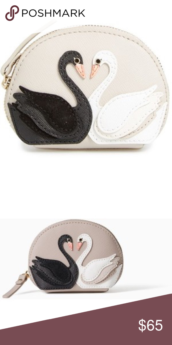 10fb2861b070 Kate spade ♤ swan coin purse nwt Beautiful dumpling coin purse to match the  other items in my swan collection listings, gorgeous 😊❤ kate spade Bags ...