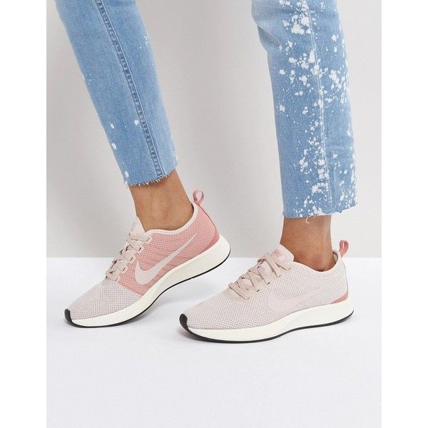 Nike Dualtone Racer Sneakers In Pink 131 Aud Liked On Polyvore Featuring Shoes Sneakers Pink Nike Pink High Top Shoes Sneakers Nike Pink Sneakers Nike