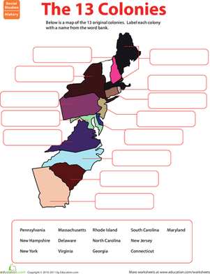 Colonies Worksheets Teaching Resources   Teachers Pay Teachers