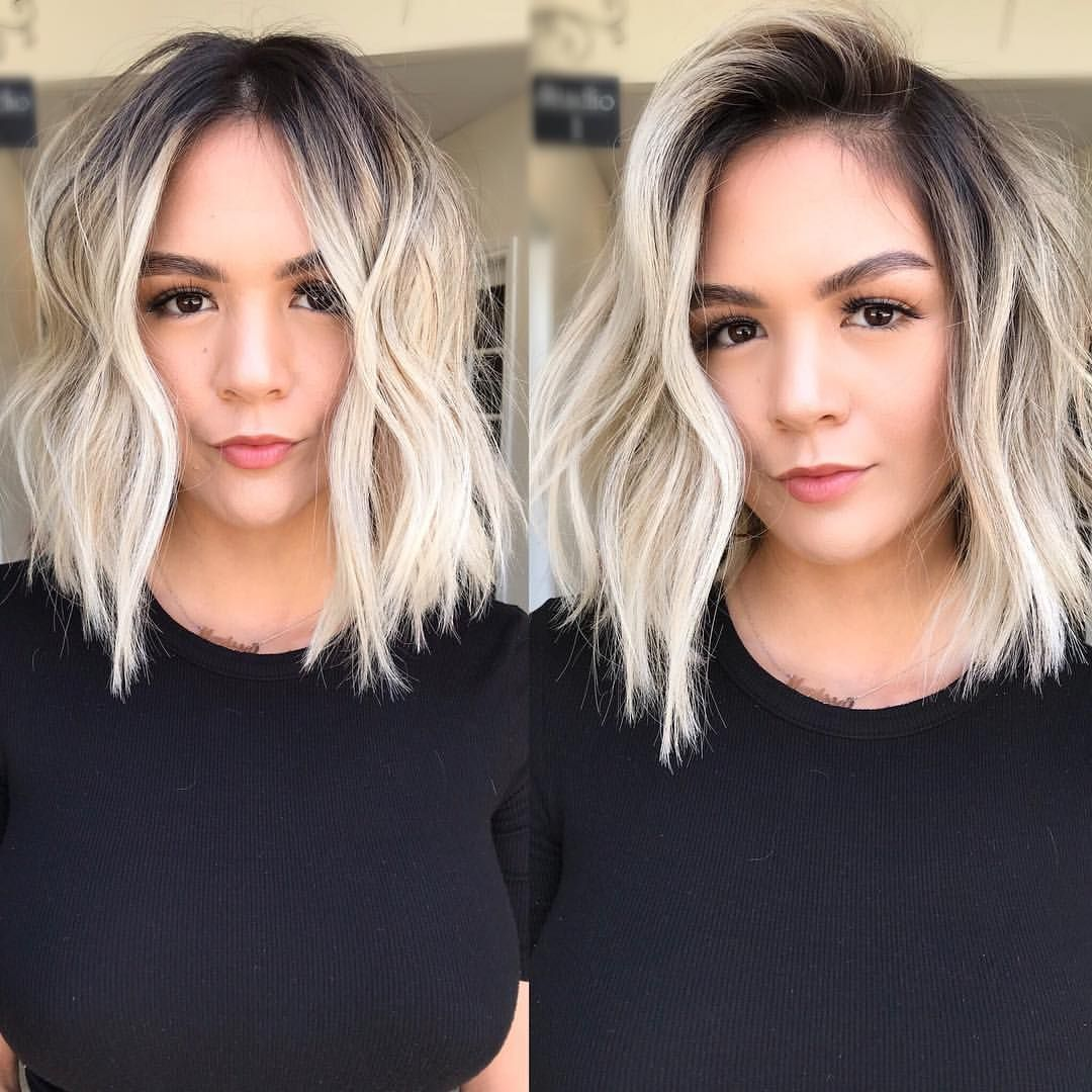 """Los Angeles Hairstylist on Instagram: """"Middle VS. Side 🤷🏻♀️ Comment which one you like best 😘"""",  #Angeles #Comment #Hairstylist #Instagram #los #middle #SIDE"""