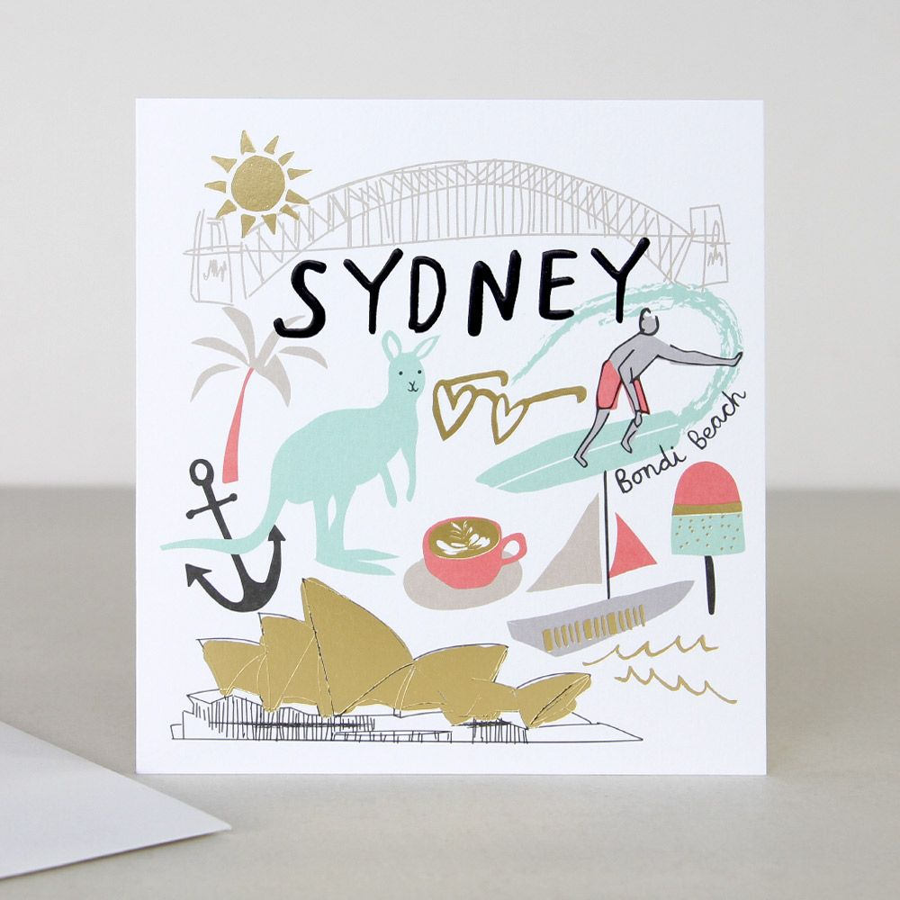 You Are Here Sydney Travel Card