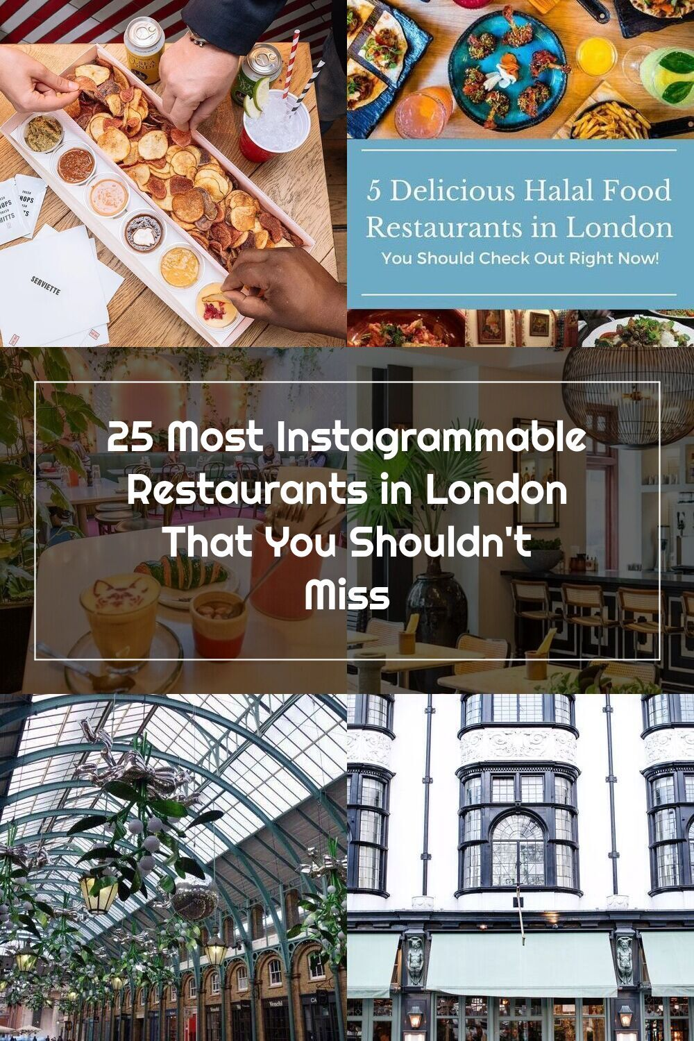 Pin Auf London Restaurants