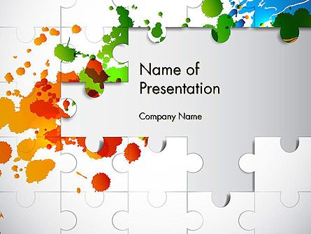 Puzzle Background Powerpoint Template Background Powerpoint Powerpoint Templates Powerpoint