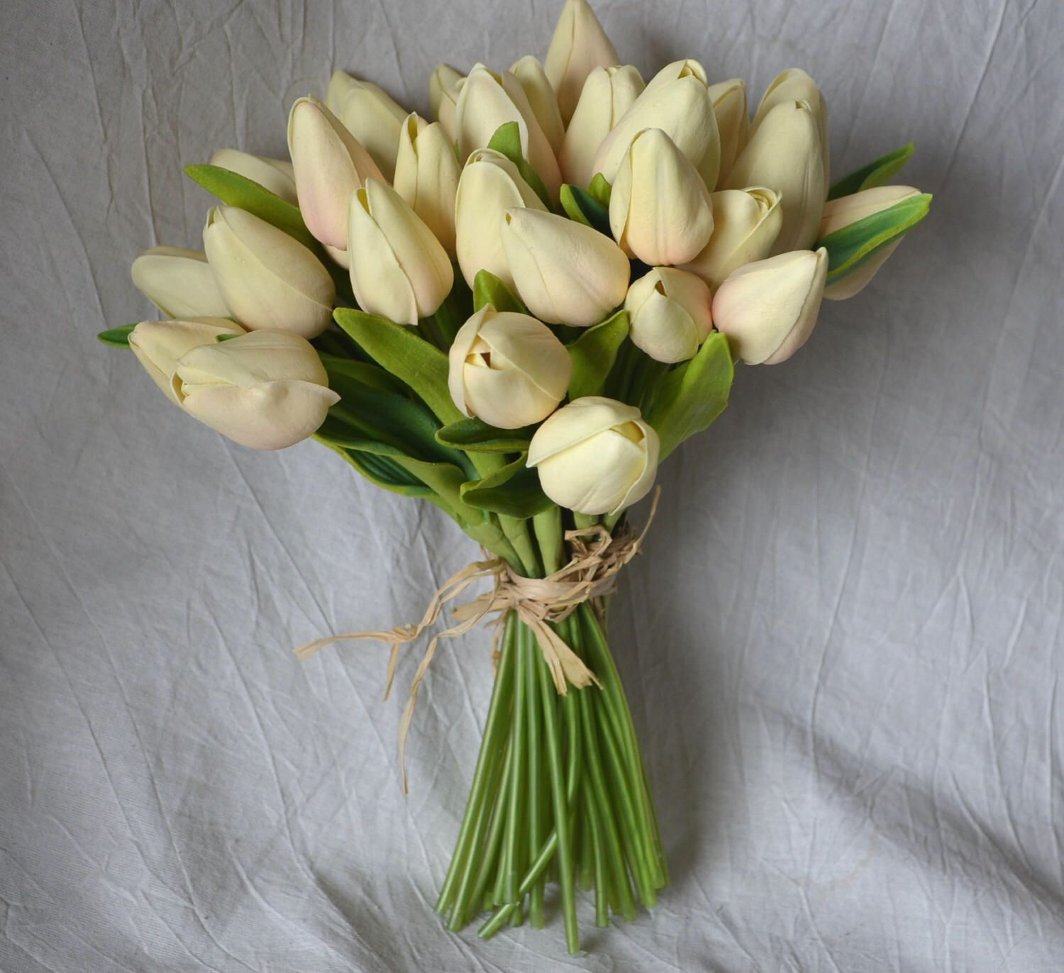 Real touch flower bouquets image collections flower wallpaper hd pale blush tulips real touch flowers diy silk bridal bouquets pale blush tulips real touch flowers izmirmasajfo