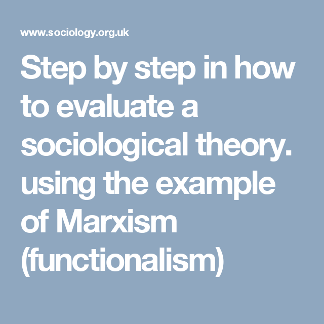 discuss marxism and functuionalism and compare Comparing functionalism and marxism on crime and deviance this assignment will compare and contrast functionalism and marxism on crime and deviance the functionalist view of crime is that it is a threat to social order.