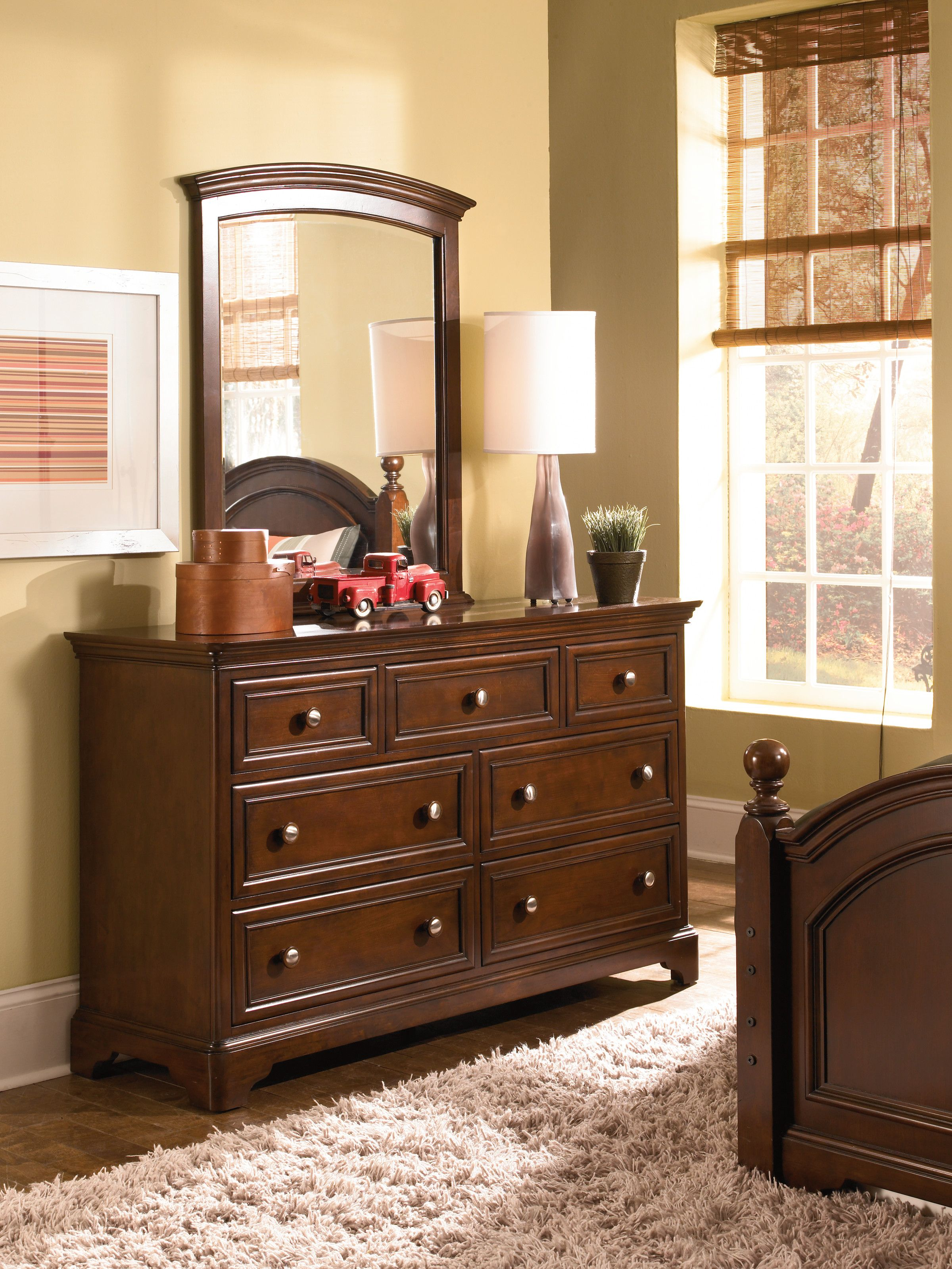 Lea Covington Collection Dresser Mirror Sets Under 500 On Clearance This Month At Lindy S Furnitu Youth Furniture Furniture Childrens Bedroom Furniture