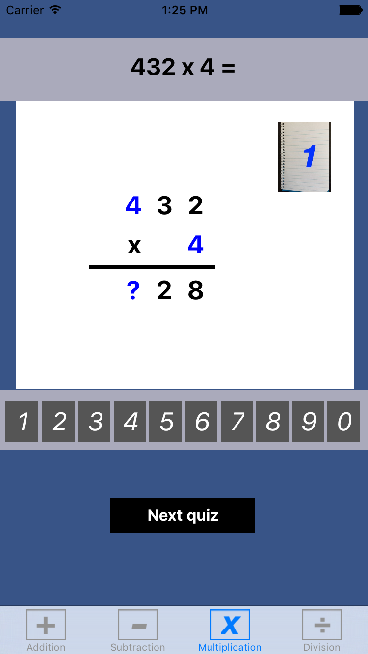Math BK5Lite provides a wide spectrum of mathematical exercises with ...