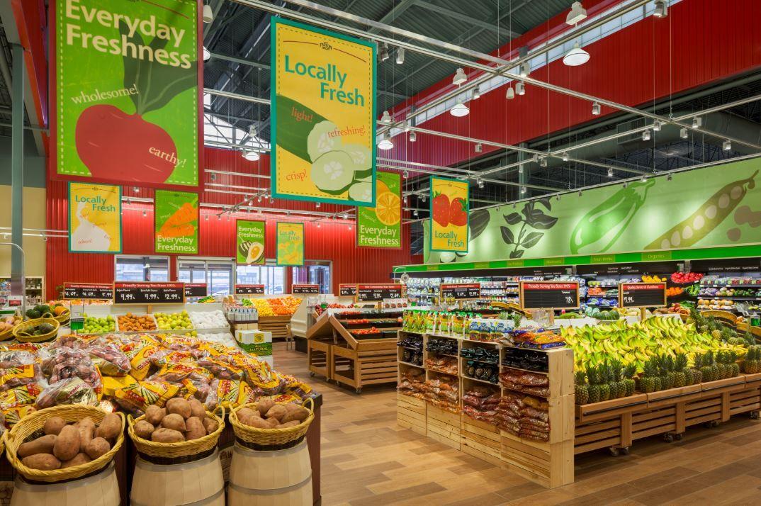 Http Www Progressivegrocer Com Userfiles Freson 20produce2 Jpg Supermarket Design Grocery Store Design Fruit Shop