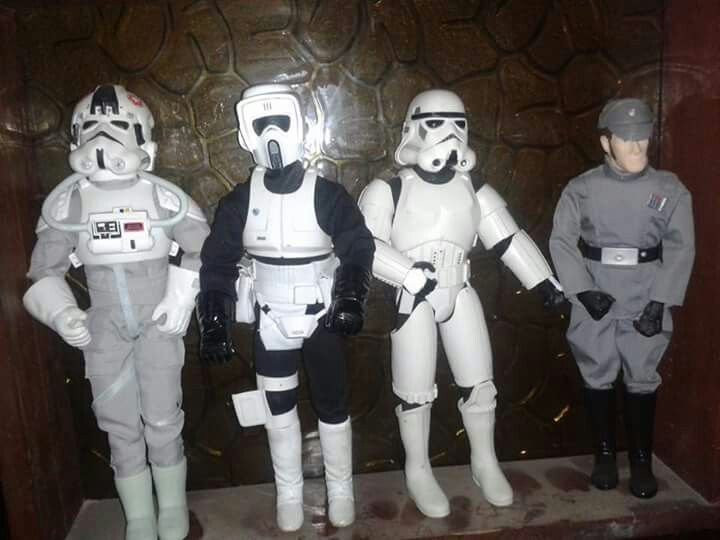 Stat wars 12 inch figures